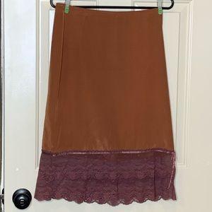 Free People midi skirt size 5